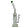 "Picture of 14"" BENT NECK DOUBLE CHAMBER w SHOWERHEAD PERC  & INLINE"