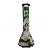 Picture of HAND PAINTED RICK + MORTY BEAKER (STYLE 7)