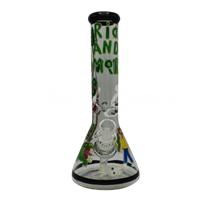 Picture of HAND PAINTED RICK + MORTY BEAKER (STYLE 8)