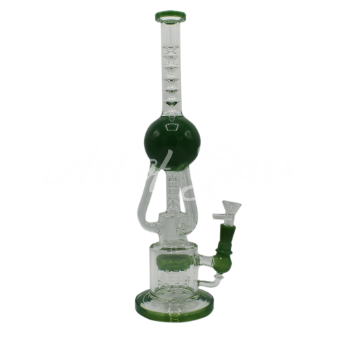 """Picture of 16"""" INLINE TREE PERC w/ 3 ARM ORB RECYCLER"""