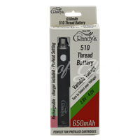 Picture of RANDYS 510 THREAD 650 MaH BATTERY ADJUSTABLE VOLTAGE