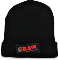 Picture of RAW BLACK BEANIE