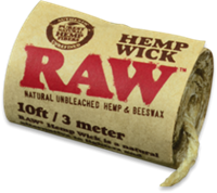 Picture of RAW HEMPWICK 10FT ROLL (40ct)