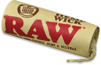 Picture of RAW HEMPWICK 20ft ROLLS (20ct)