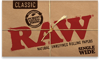 Picture of RAW CLASSIC SINGLE WIDE PAPERS (25ct)