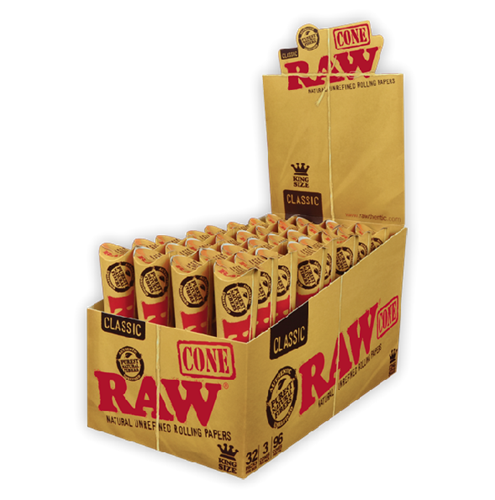 Picture of RAW CLASSIC CONES KING SIZE (32ct)