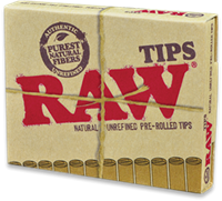 Picture of RAW PRE-ROLLED TIPS - 20 ct