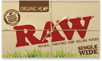 Picture of RAW ORGANIC HEMP SINGLE WIDE (25ct)