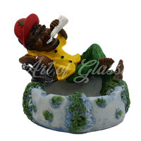Picture of POLY RESIN ASHTRAY (STYLE 7)