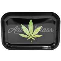 """Picture of MEDIUM LEAF ROLLING TRAY 7""""x11"""""""