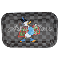 """Picture of MEDIUM MONEY DUCK ROLLING TRAY 7""""x11"""""""