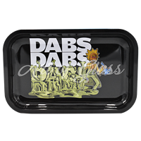 """Picture of MEDIUM RICK & MORTY DABS ROLLING TRAY 7""""x11"""""""