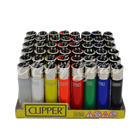 Picture of MULTI COLOR CLIPPER LIGHTERS (48ct)