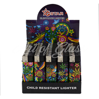 Picture of GRAFFITI LEAF LIGHTER (CHILD RESISTANT) (50CT)