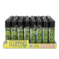 Picture of LEAF PATTERN DESIGN CLIPPER LIGHTER (48ct)