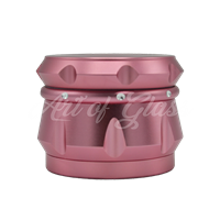"Picture of 2.5"" CHROMIUM CRUSHER DRUM 4 PART GRINDER PINK"
