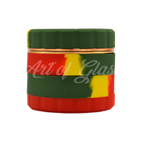 "Picture of 2.5"" RASTA ROYAL SILICONE 4-PIECE GRINDER"