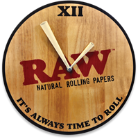 Picture of RAW WOODEN WALL CLOCK