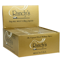 Picture of RANDYS WIRED ROLLING PAPERS KING SIZE (25ct)