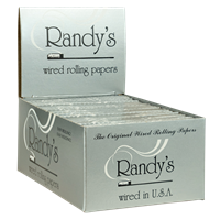 Picture of RANDYS WIRED ROLLING PAPERS 77mm (25ct)