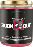 BOOM OUT APPLE CINNAMON CANDLE (5oz/13oz)
