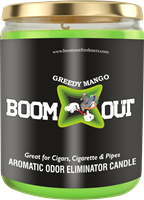 Picture of BOOM OUT GREEDY MANGO CANDLE (5oz/13oz)