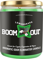 Picture of BOOM OUT LEMON GRASS CANDLE (5oz/13oz)