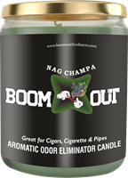 Picture of BOOM OUT NAG CHAMPA CANDLE (5oz/13oz)