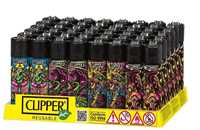 Picture of PSYCHEDELIC DESIGN CLIPPER LIGHTERS (48)