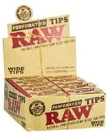 Picture of RAW WIDE PERFORATED TIPS (50ct)