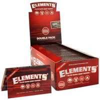 Picture of ELEMENTS RED HEMP PAPERS SINGLE WIDE (25ct)