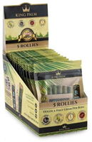 Picture of KING PALM 5PK ROLLIES w BOVEDA - 15ct	Display