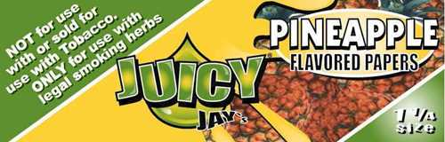 Picture of JUICY JAY PAPERS PINEAPPLE 1 1/4 (24ct)