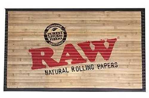 "Picture of RAW BAMBOO DOOR MAT 30"" x 18"" - SMALL"