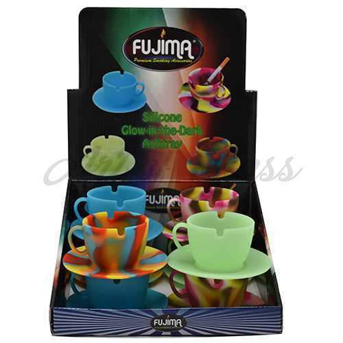 Picture of SILICONE COFFEE CUP ASHTRAY 8ct w DISPLAY