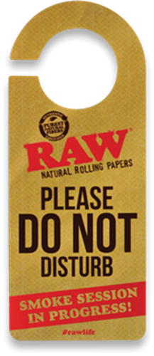 "Picture of RAW ""DO NOT DISTURB"" SIGN"
