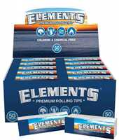 Picture of ELEMENTS ROLL-UP TIPS NON-PERFORATED (50ct)