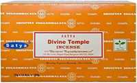 Picture of SATYA DIVINE TEMPLE INCENSE STICKS 12pk 15g