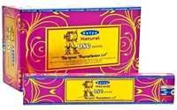 Picture of SATYA NATURAL ROSE INCENSE STICKS 12pk 15g