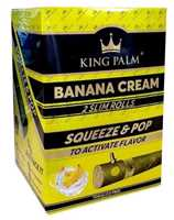 Picture of KING PALM SLIM 2pk - BANANA CREAM - 20ct