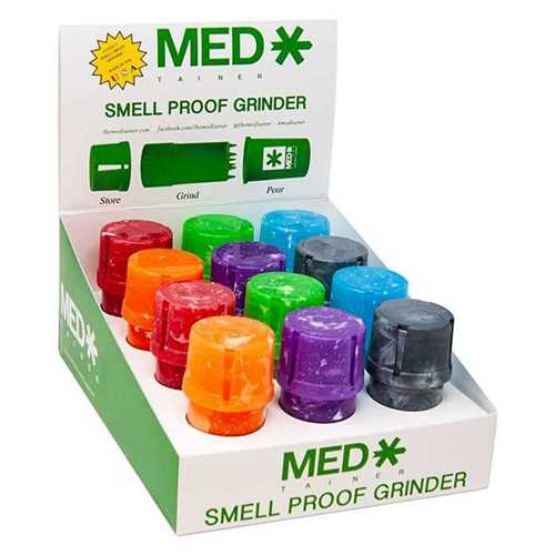 Picture of MEDTAINER - MARBLE ASSORTED - 12ct DISPLAY KIT