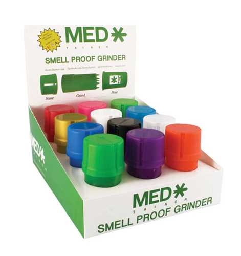 Picture of MEDTAINER - TRANSLUCENT ASSORTED - 12ct DISPLAY KIT