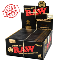 Picture of RAW BLACK KING SIZE SLIM INSIDE OUT - 50ct - LIMITED EDITION