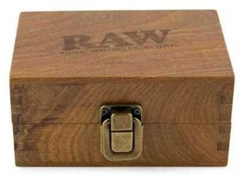 """Picture of THE RAW WOOD BOX (5"""" x 3.4"""" x 2.5"""")"""