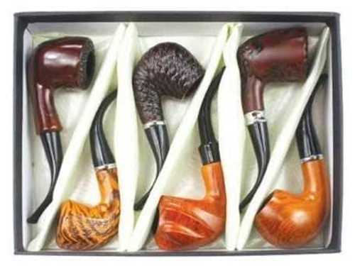 Picture of FUJIMA 6ct WOODEN SHERLOCK MIX DISPLAY