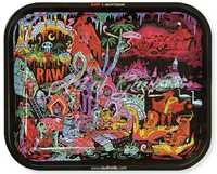 "Picture of LARGE RAW GHOST SHRIMP SERIES 2 ROLLING TRAY 11"" x 13"""
