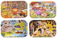"Picture of MEDIUM CARTOON SERIES ROLLING TRAYS 7"" x 11"""