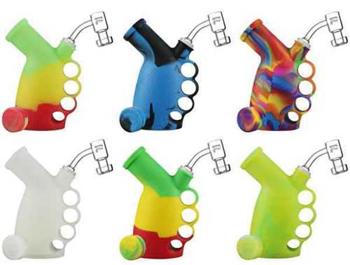 Picture of PULSAR RIP SILICONE KNUCKLE RIG BUBBLER