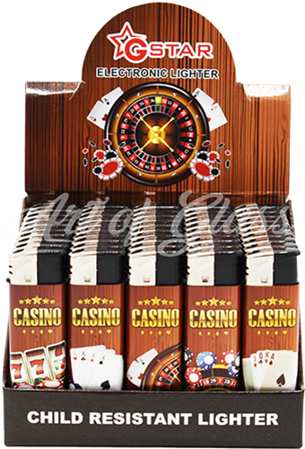 Picture of CASINO LIGHTER (CHILD RESISTANT) (50CT)