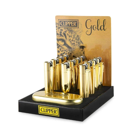 Picture of CLIPPER FULL METAL LIGHTER GOLD - 12ct